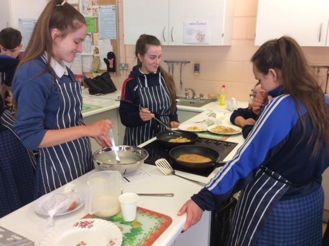 May 2018: French Cookery Class