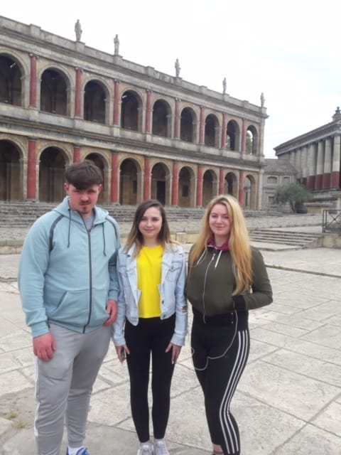 May 2018: Desmond College TY Students in Rome