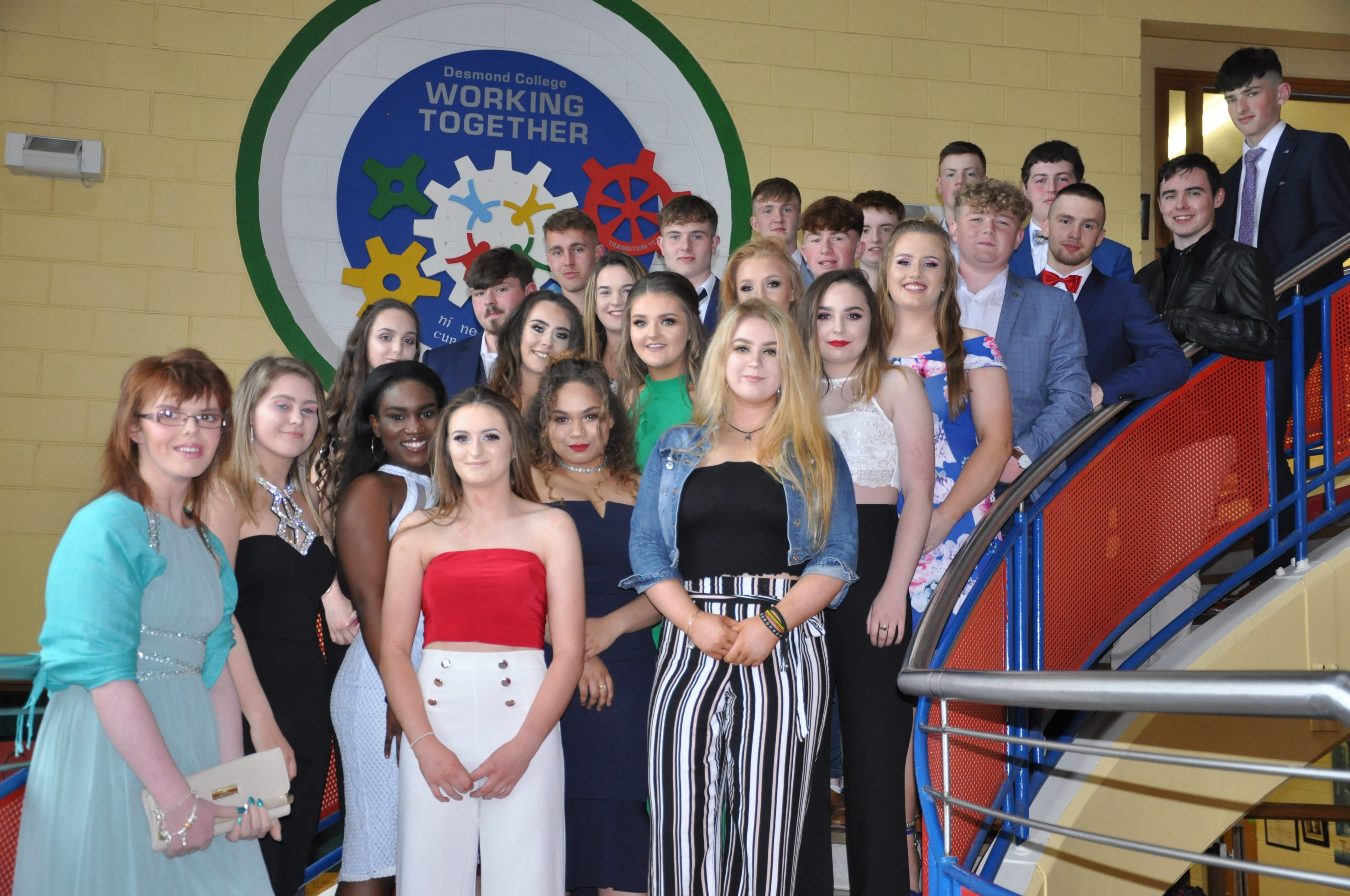May 2018: Desmond College Transition Year Students Graduation