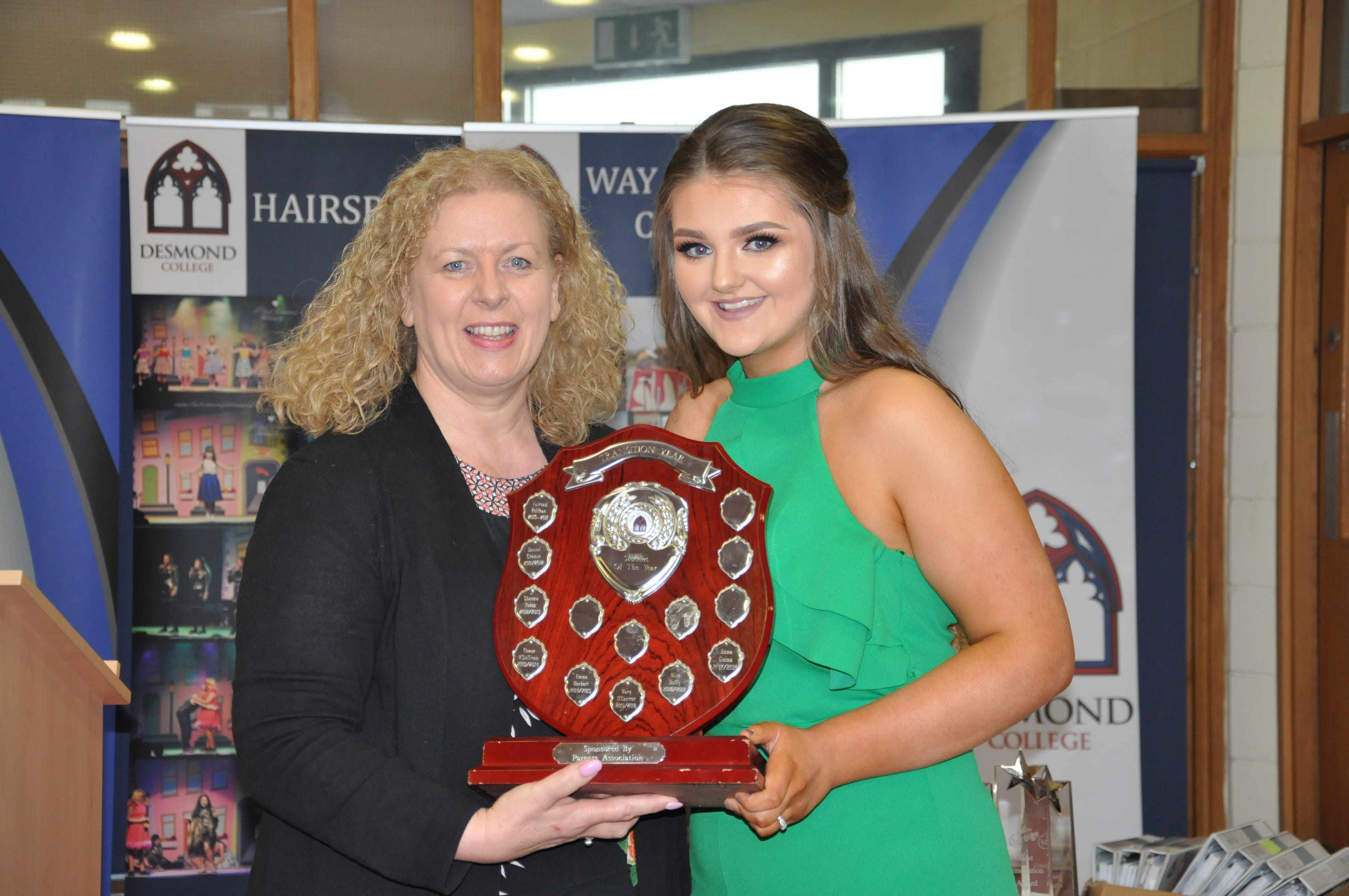 May 2018: Transition Year Student of the Year Awards