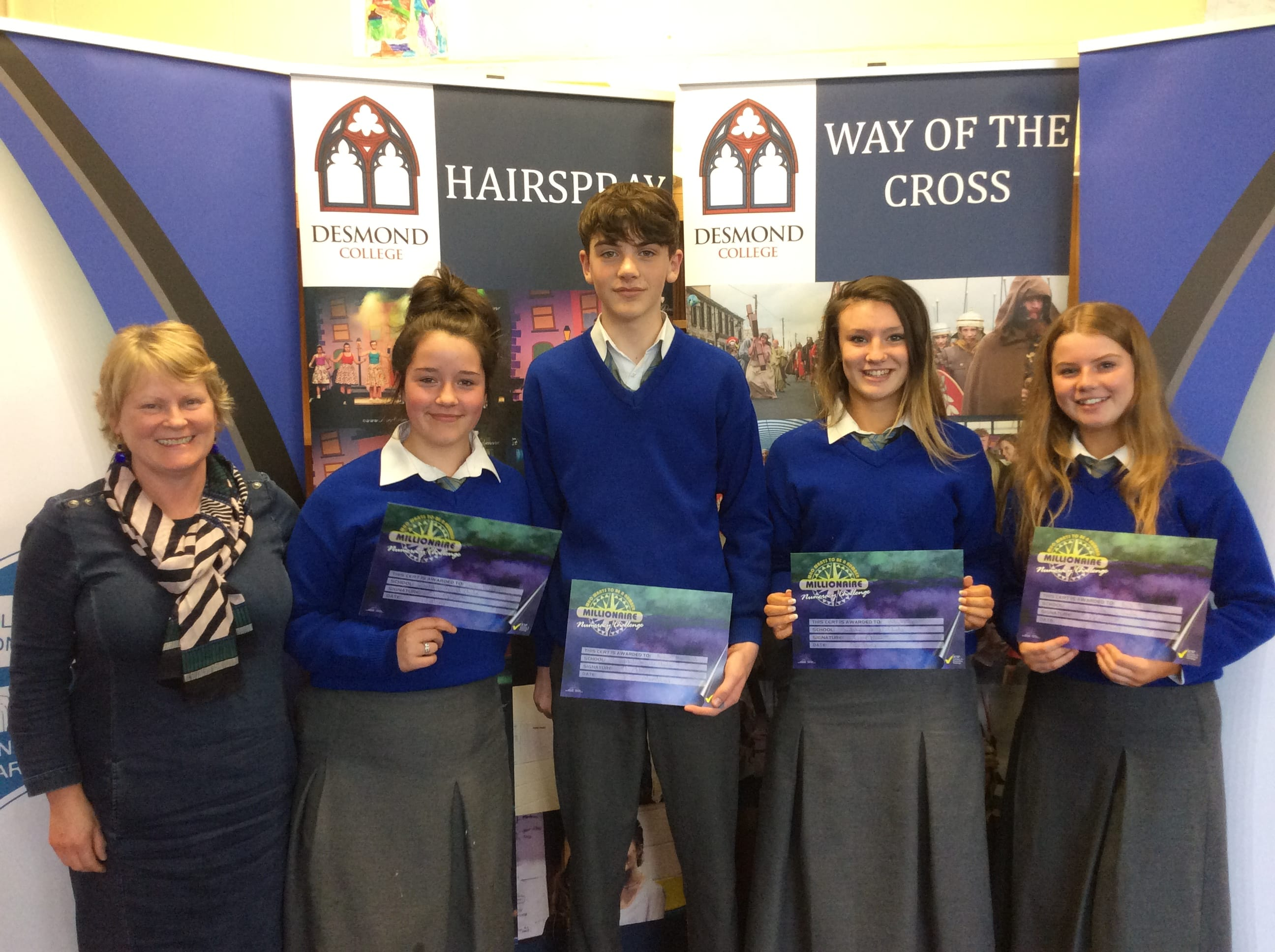 May 2018: Desmond College Student Awards