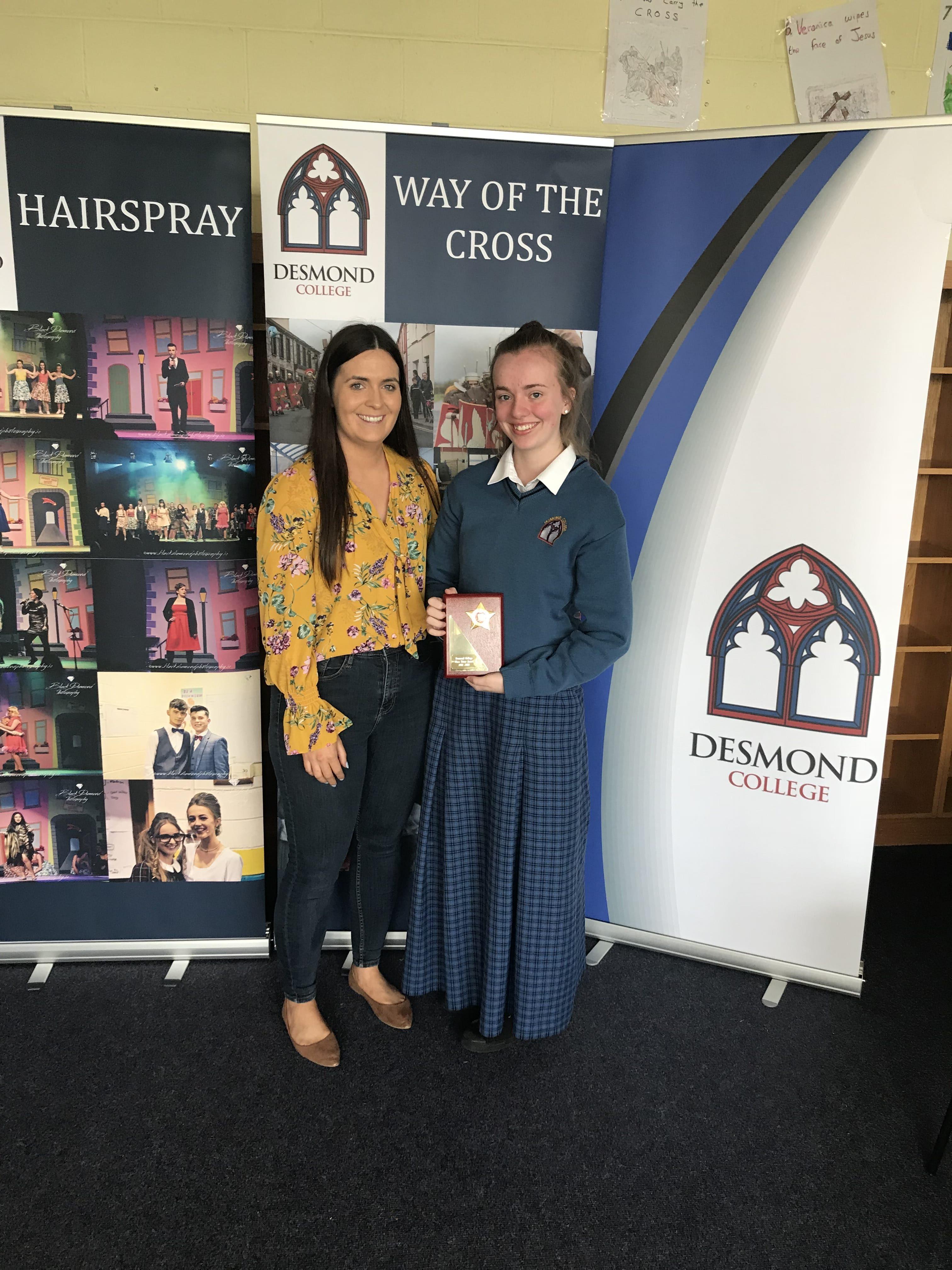 May 2018: Fifth Year Awards
