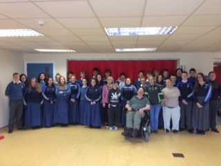 Sept 2018: Desmond College Transition Year Students and Brothers of Charity service users
