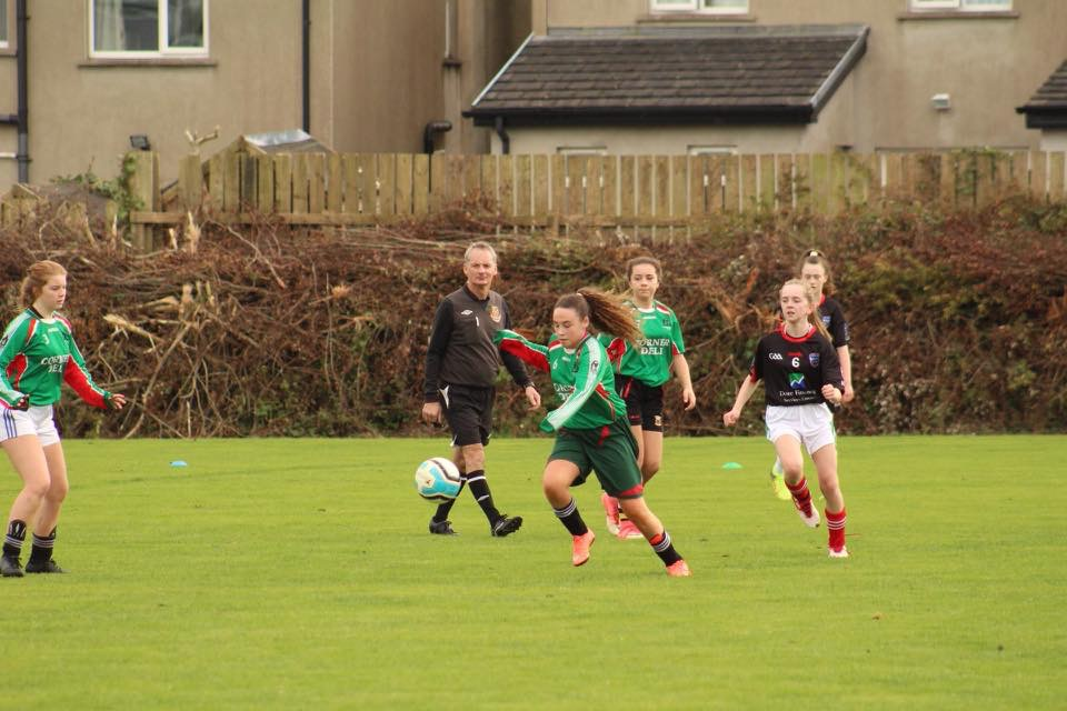 11th October 2018: Desmond College Junior Soccer Team play against Mungret CC