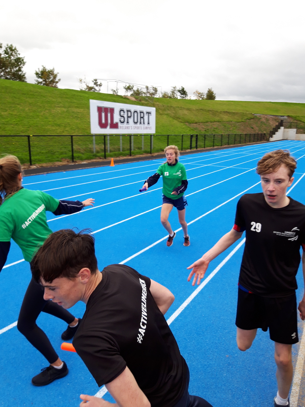 8th October 2018: Desmond College students went to University of Limerick to Participate in World Marathon Day