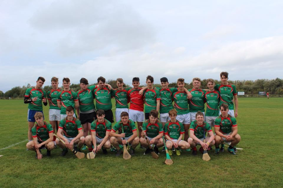 October 2018: Desmond College Senior Hurling Team win the first match of the season against Gaelcholáiste Luimnigh