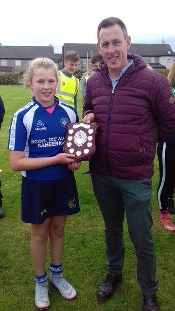 Sept 2018: Desmond College's Annual Primary School Camogie and Hurling Blitz