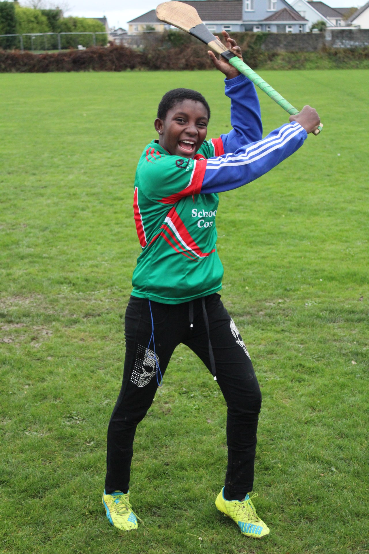 Nov 2018: Mary Odigie who played with Desmond College against Abbeyfeale