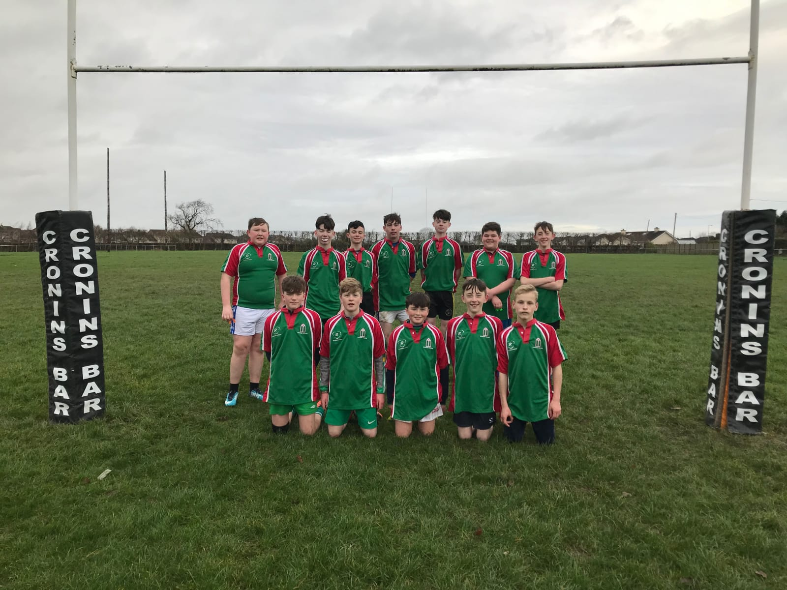 Dec 2018: Desmond College's First and Second year boys team