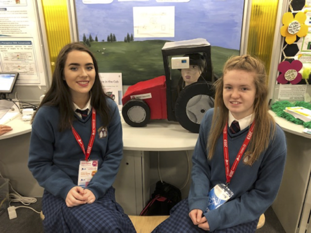 Fiona Kelly & Kayla McMahon – Transition Year Students
