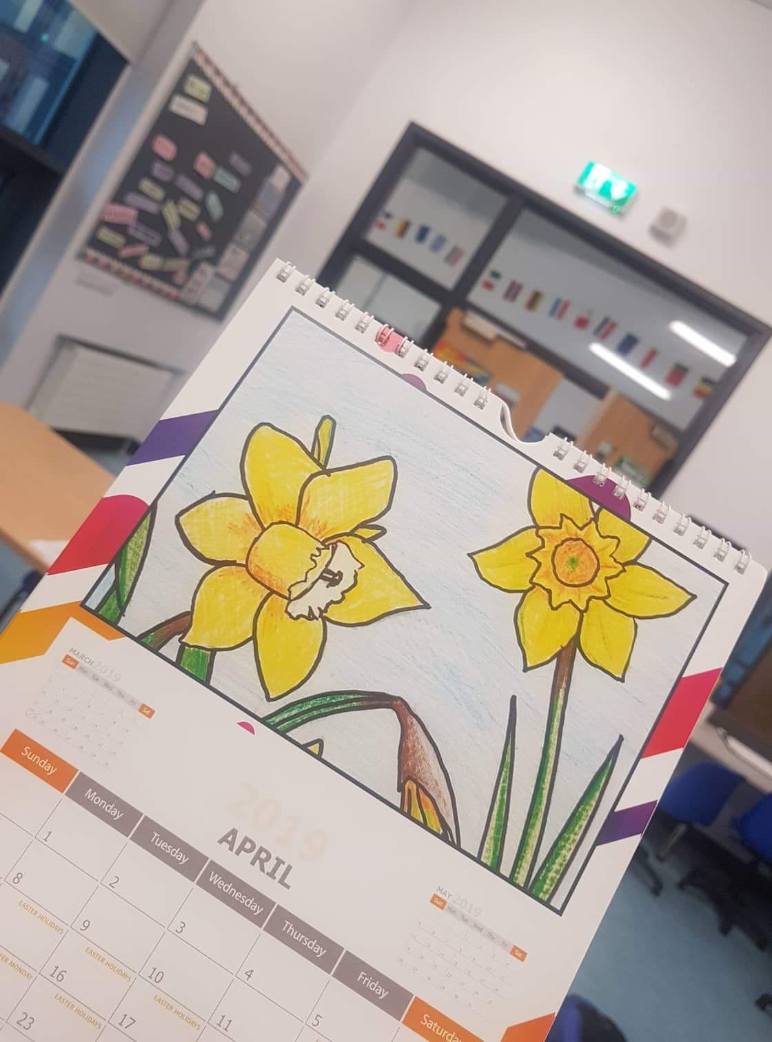 Images from the school calendar
