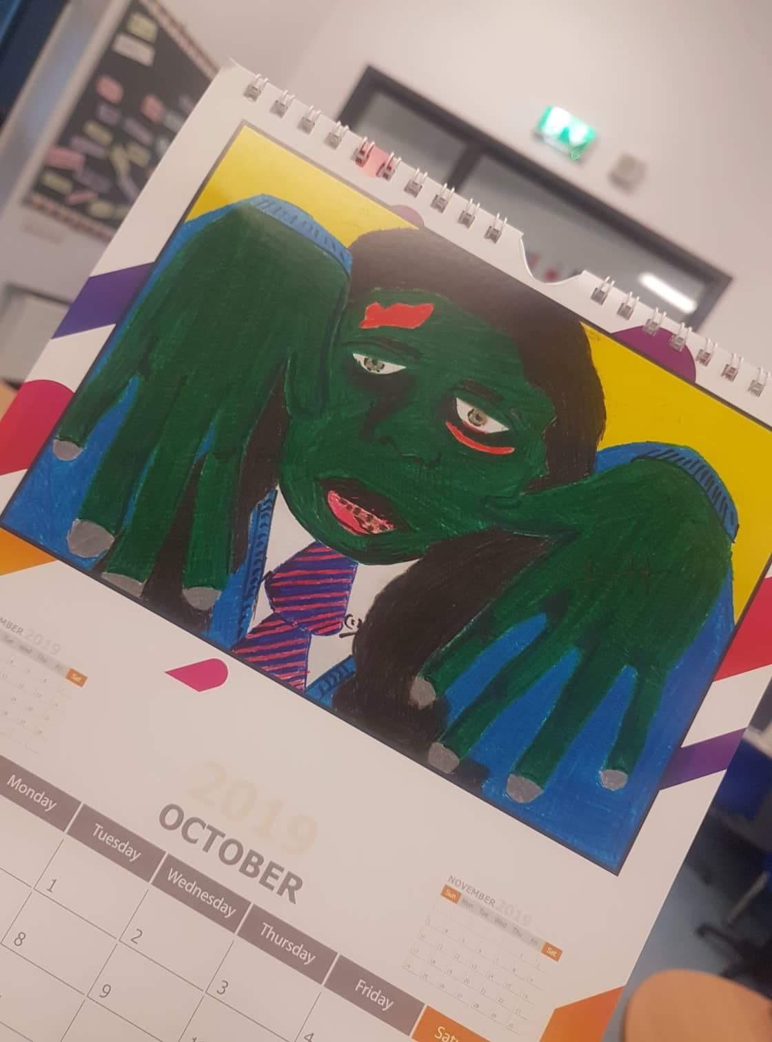 Desmond College School Calendar Production