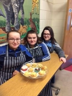 2019, March: Shauna O'Sullivan, Shannon Copse and Chloe Ahern organised a bake sale to raise much needed funds for Pieta House