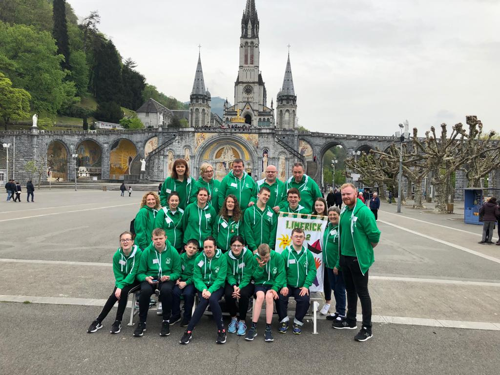 Darragh Leahy student in Desmond College on a recent Pilgrimage to Lourdes