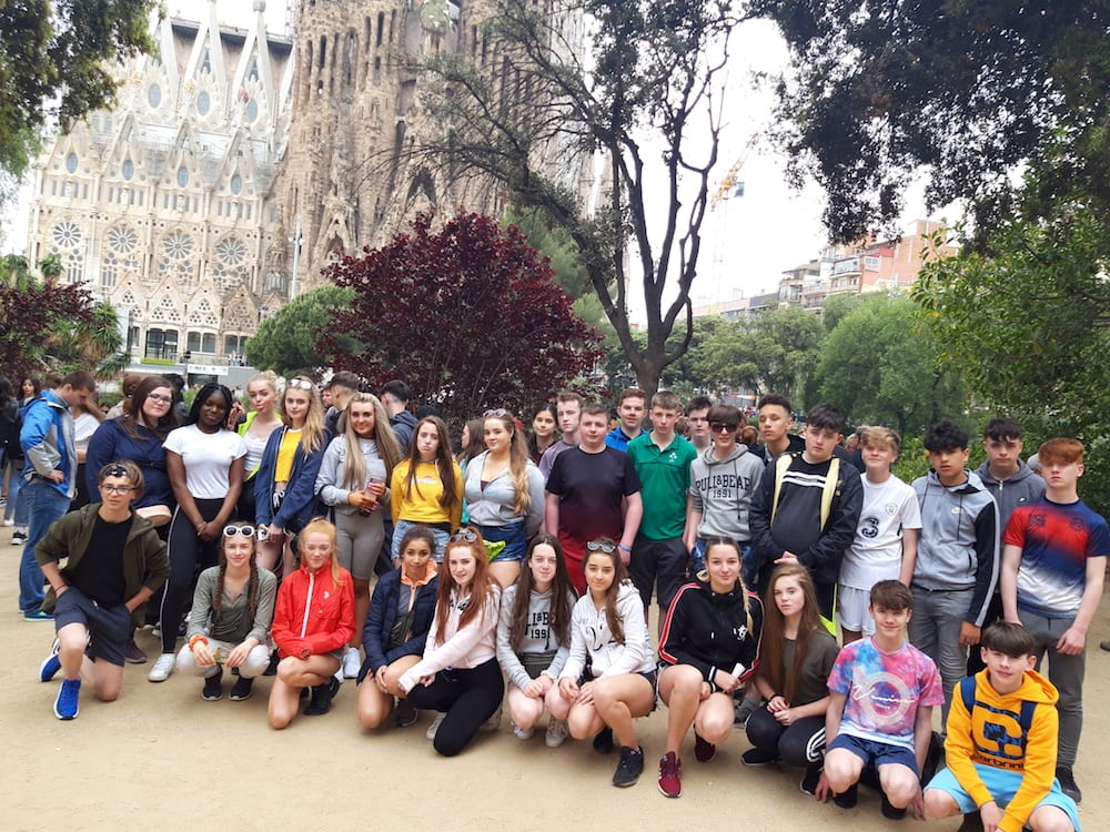 May 7th 2019: Desmond College 2nd year trip to Barcelona