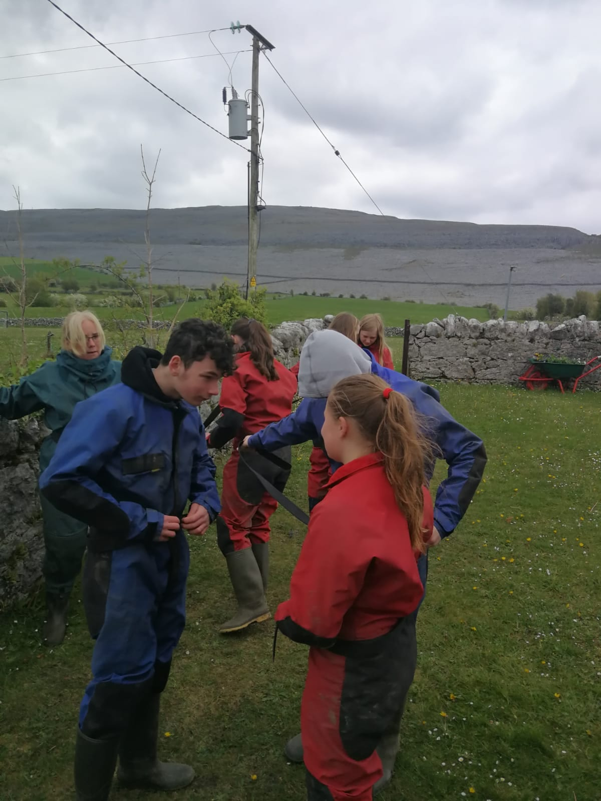 First Year Trip to the Burren 2019