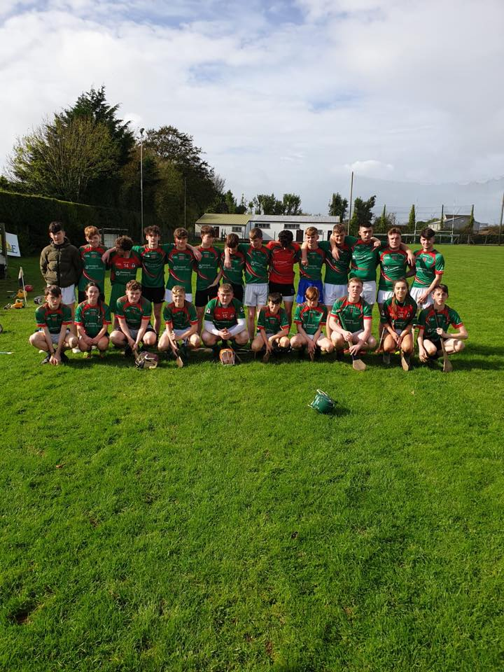 2019 October: The Desmond College Hurling Team