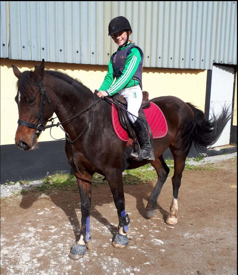 2019 October: Equestrian Success for Desmond College student Kaliyah Enright, pictured on her horse