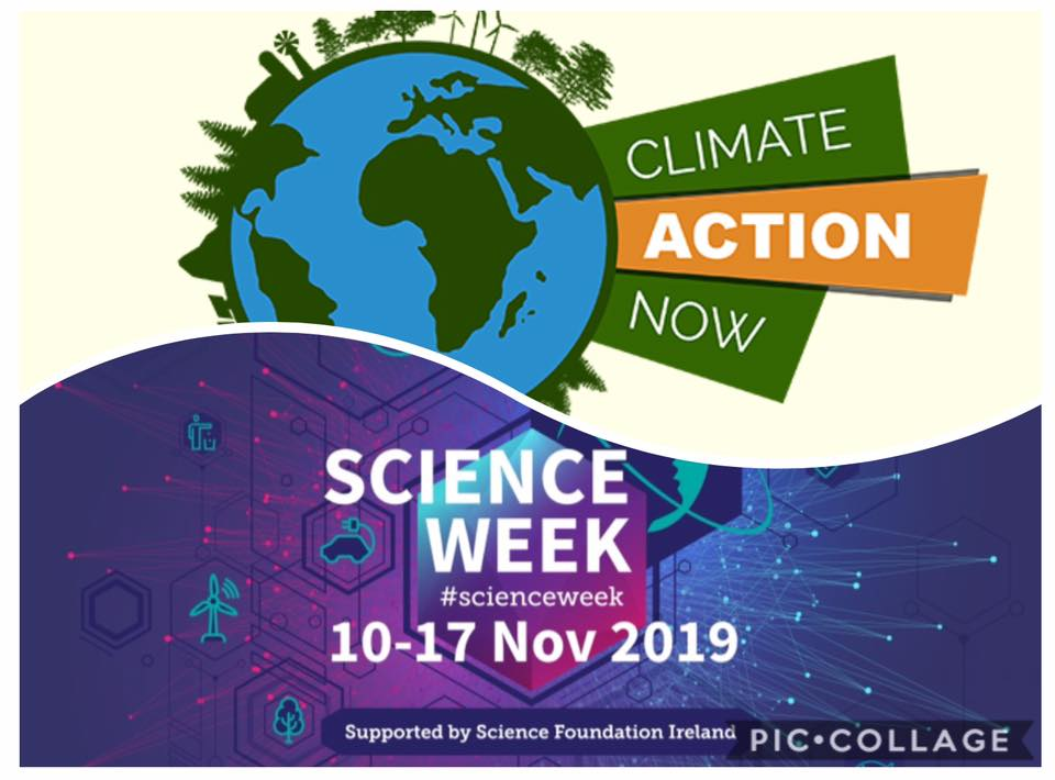 Science Week 2019: from 10th to 17th November. Climate Action and Change.