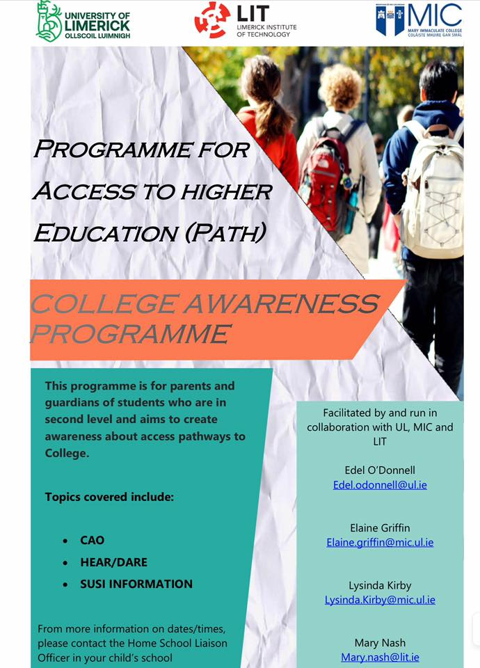 2019-11: Programme for Access to Higher Education