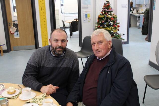 December 2019: Desmond College entertain retired staff