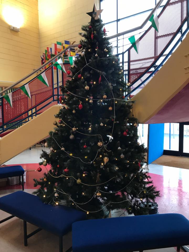 December 2019: Annual Christmas Dinner by LCA2 in Desmond College