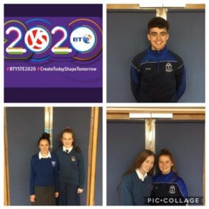 2020 Desmond College goes to the 56th BT Young Scientist Exhibition in Dublin