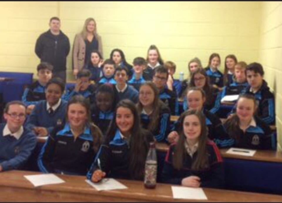 Desmond College TY Students learning about Tralee Institute of Technology