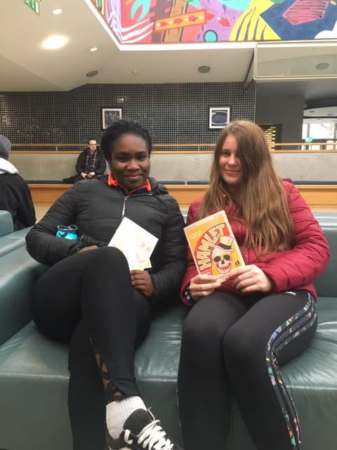 January 2020: Desmond College Newcastle West Leaving Certificate students attend Hamlet